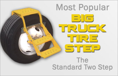 Most Popular Big Truck Tire Step Standard Two Step