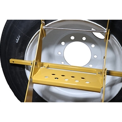 Big Truck Tire Step Dayton Amp Dual Wheel Adapter For Big